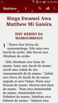 Ewage-Notu - Bible poster