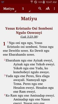 Karo (Rawa) - Bible poster