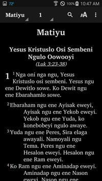 Karo (Rawa) - Bible screenshot 3