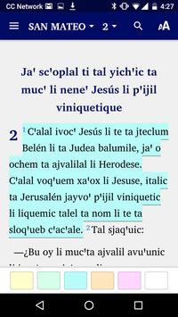 Tzotzil San Andrés - Bible screenshot 1