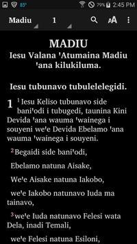 Iamalele - Bible screenshot 2