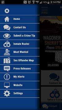 Wagoner County OK Sheriff screenshot 1