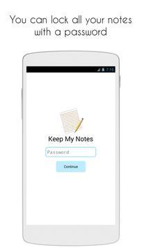 Keep My Notes screenshot 3