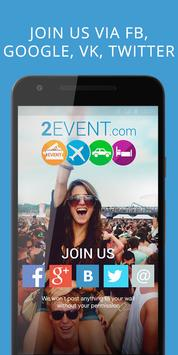 2Event-App for Events, networking and travelmates screenshot 7