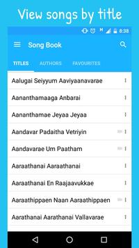 Tamil Christian Worship Songs screenshot 1