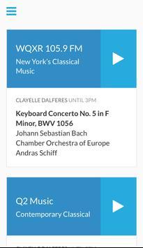 Classical Music Radio WQXR poster