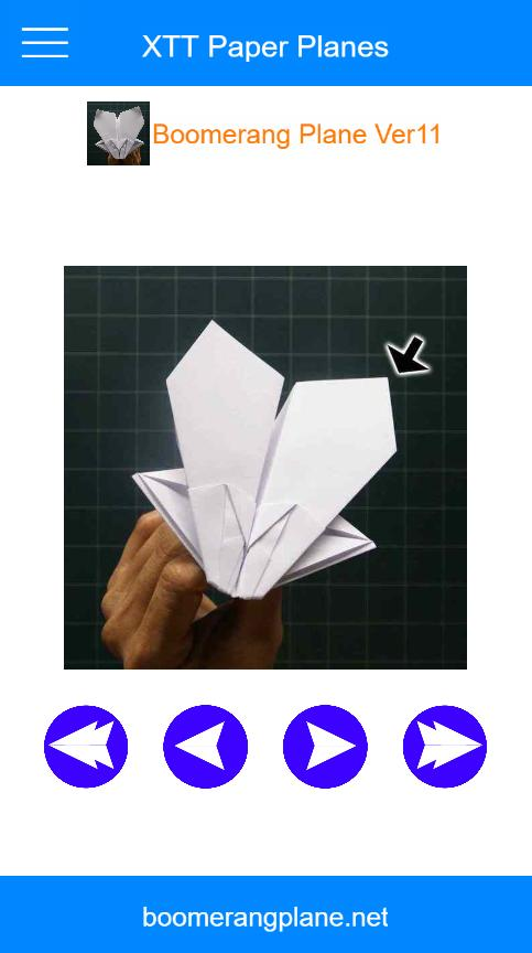 Origami Boomerang Folding Instructions | 864x483