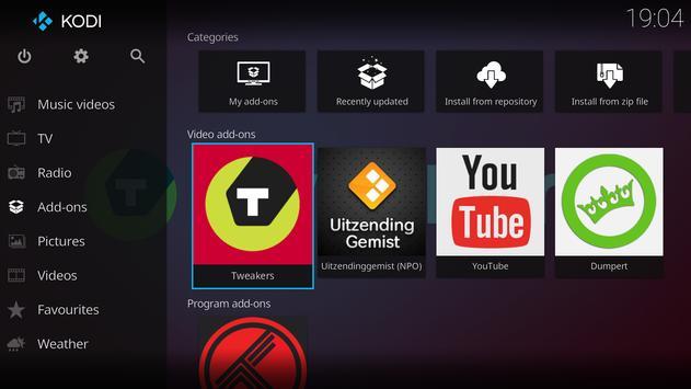 Kodi captura de pantalla 6