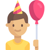 Contacts' Birthdays-icoon