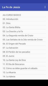 La Fe de Jesús screenshot 1