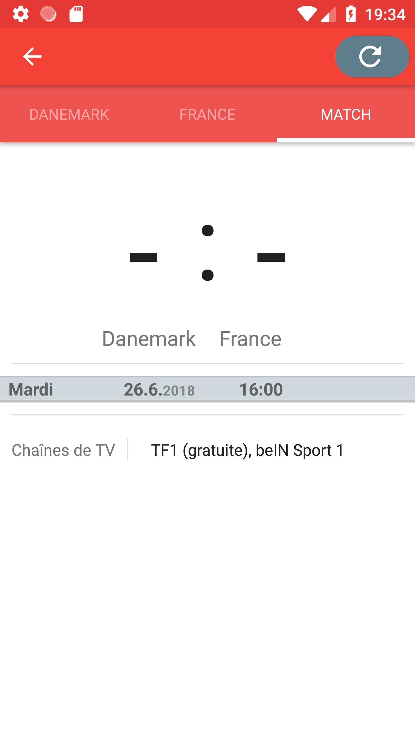 Euro Calendrier Match.Euro Calendrier 2020 Eliminatoires Pour Android