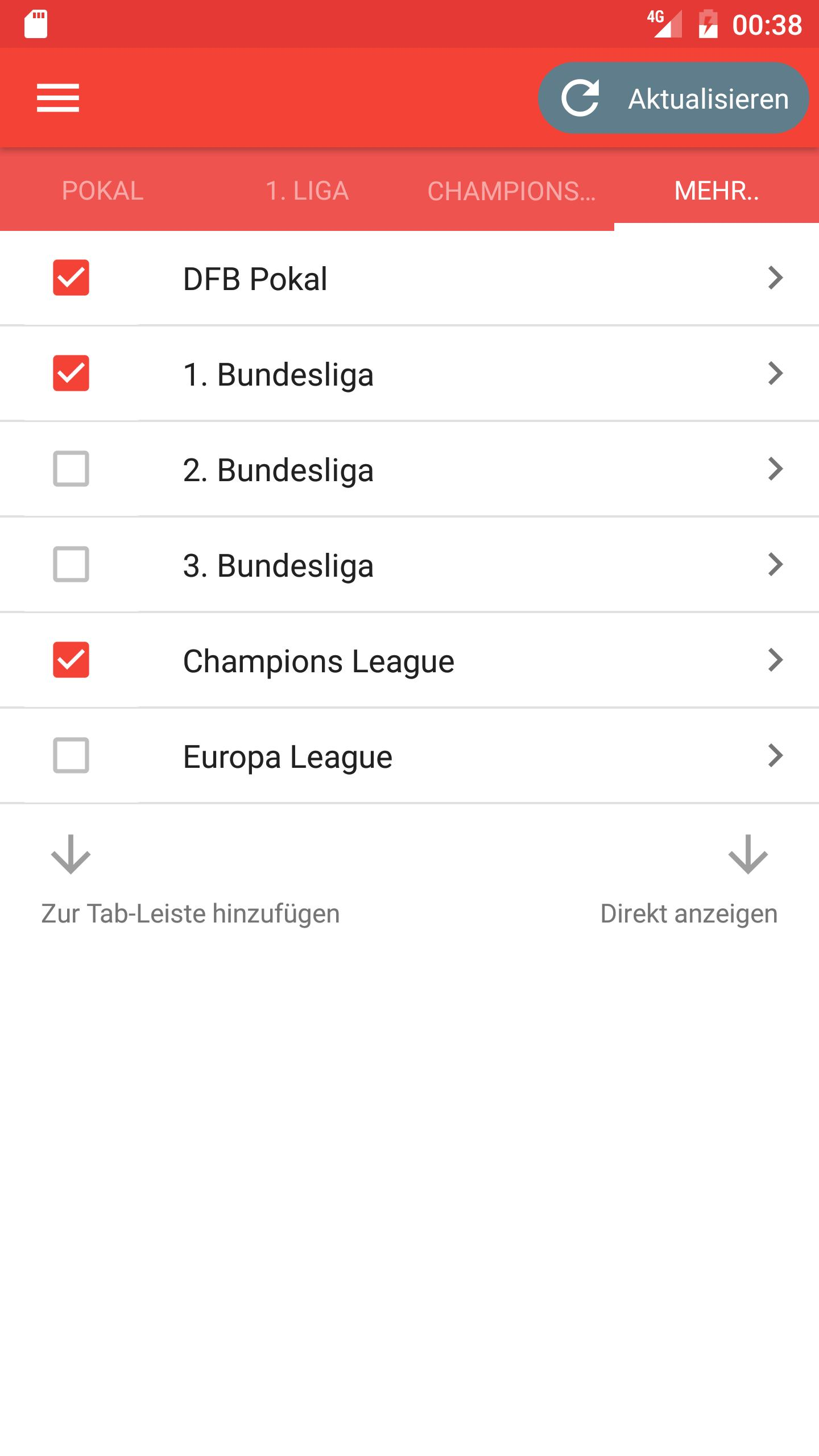 Fussball Ergebnisse Footy For Android Apk Download