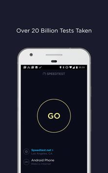 Speedtest capture d'écran 3