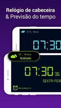 Despertador com alarme e musicas alto imagem de tela 14