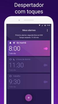 Despertador com alarme e musicas alto imagem de tela 12