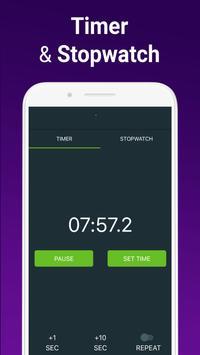 Alarm Clock with Ringtones for free screenshot 5