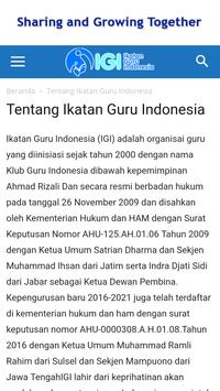 IGI Ikatan Guru Indonesia screenshot 2