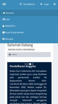 IGI Ikatan Guru Indonesia screenshot 6