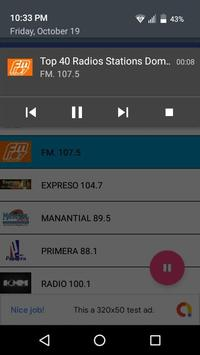 Top 40 Radios Stations Dominican Republic screenshot 4