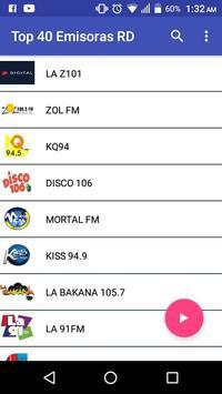 Top 40 Radios Stations Dominican Republic screenshot 1