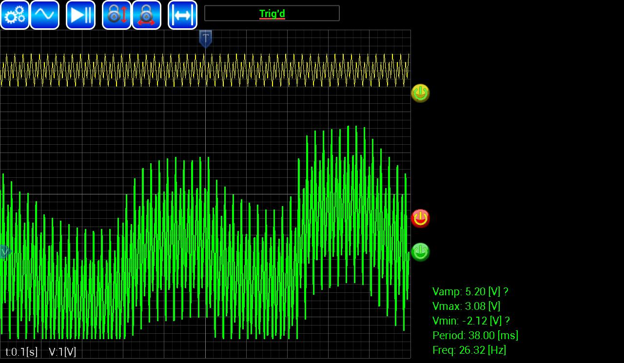 AR-Oscilloscope for Android - APK Download