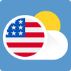 United States USA Weather ikona