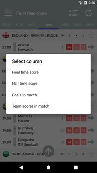 Soccer Predictions, statistics, bets screenshot 6