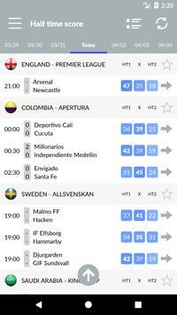 Soccer Predictions, statistics, bets screenshot 7