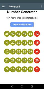 Virginia Lottery Number Generator and Systems screenshot 1