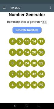 Virginia Lottery Number Generator and Systems screenshot 5