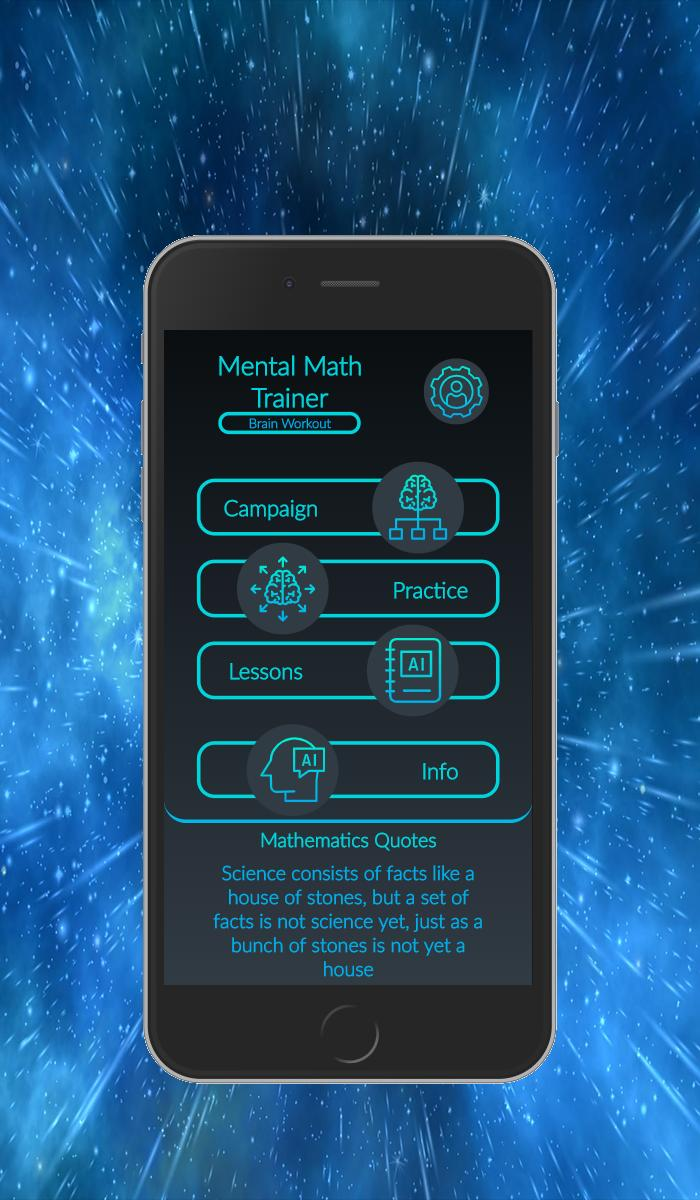 Mental Math Trainer, Brain Workout for Android - APK Download
