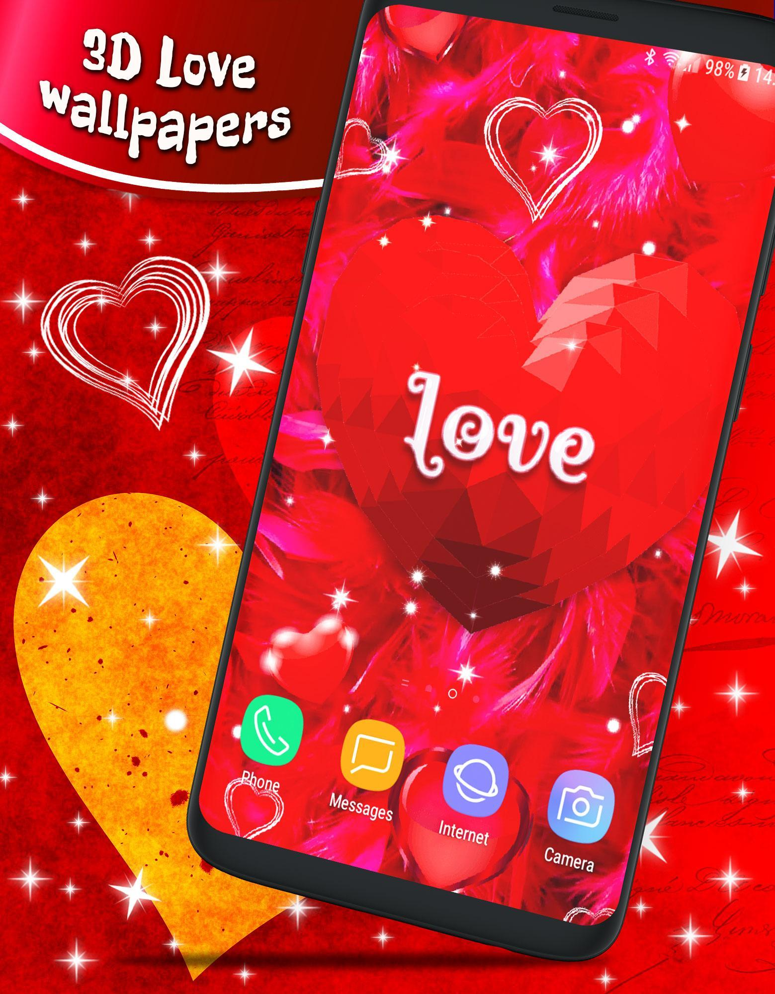 Love Parallax 3d Live Wallpaper Hd Themes For Android Apk