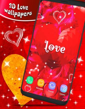 Love Parallax 3d 💟 Live Wallpaper HD Themes for Android