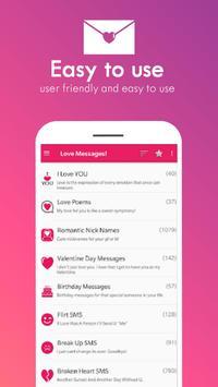 2019 Love SMS Messages screenshot 1