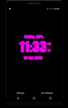 Love Digital Clock screenshot 10