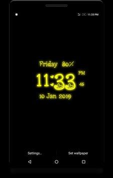 Love Digital Clock screenshot 2
