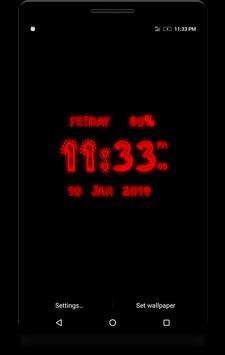 Love Digital Clock screenshot 4