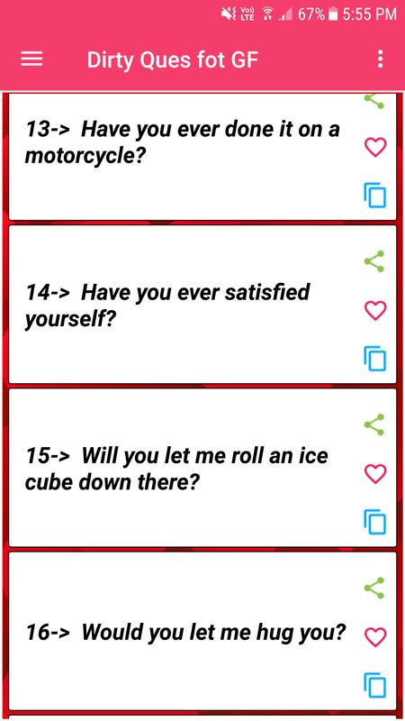 Dirty Questions To Ask Your Love For Android Apk Download