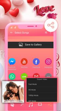 Love Video Maker With Music - Love Slideshow Maker screenshot 4