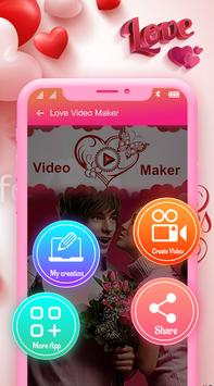 Love Video Maker With Music - Love Slideshow Maker poster