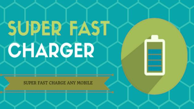 battery saver android fast charger poster