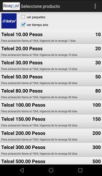Recargazul - Tiempo Aire Electrónico screenshot 4