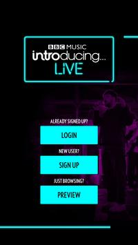 BBC Introducing Live poster