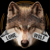 Lone Wolf Wallpaper and Keyboard icon