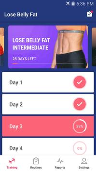 Lose Belly Fat in 30 Days - Flat Stomach screenshot 7