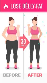 Lose Belly Fat in 30 Days - Flat Stomach screenshot 6