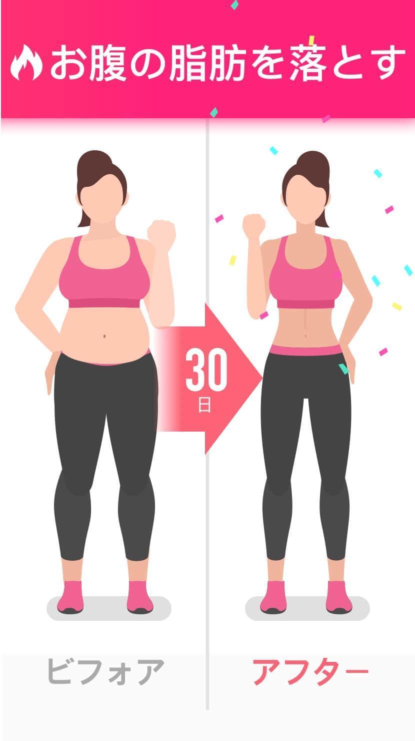 落とす お腹 周り 女性 脂肪