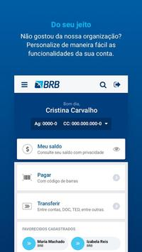 Banco BRB (Mobile) screenshot 1