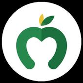 Manzana Verde - Comida saludable para bajar peso आइकन