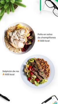 Manzana Verde - Comida saludable para bajar peso स्क्रीनशॉट 1